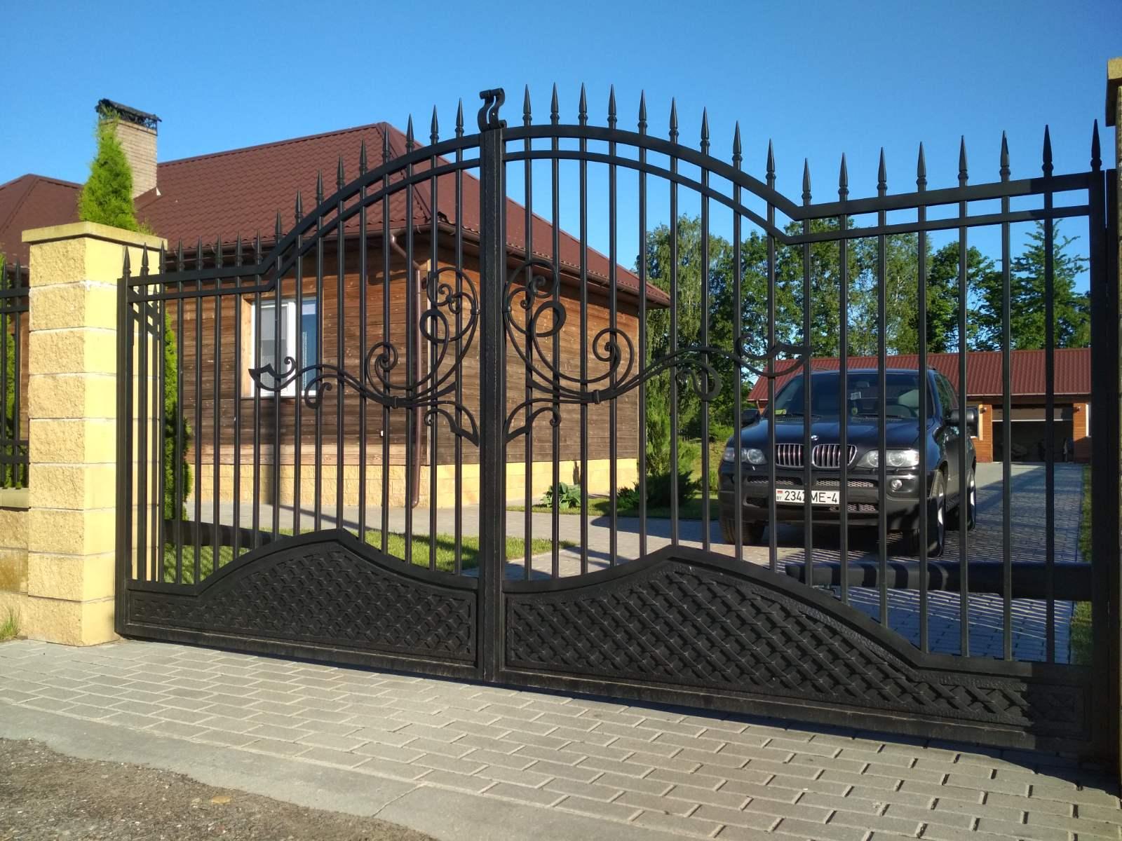 Кованые ворота №31 4700 руб. кв. м.