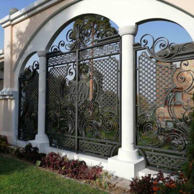 Кованые ворота №5 1130 руб. кв. м.