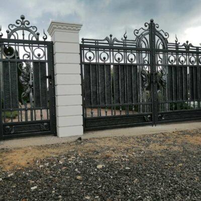 Кованые ворота №15 630 руб. кв. м.