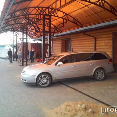 Навес для авто №002 от 140 руб. м. кв.