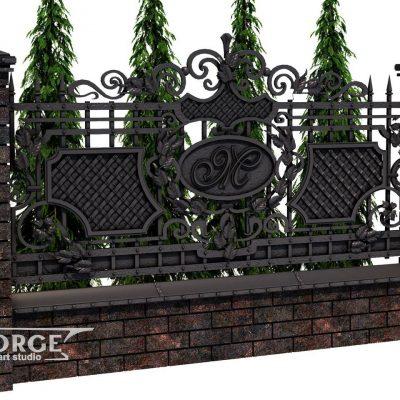 Кованый забор в Минске купить