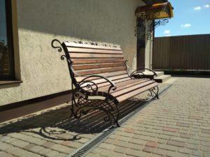 Кованая садовая мебель под заказ